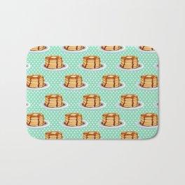 Pancakes & Dots Pattern Bath Mat