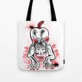 Kitty Girl Tote Bag