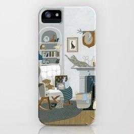 Baby Animal Nursery iPhone Case