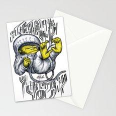 - Jou Are A Space Monkey - Mr.Klevra Stationery Cards