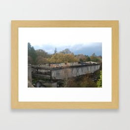 St. Peter's Seminary - Lecture Hall Framed Art Print