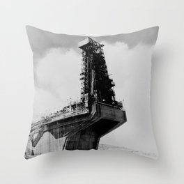 TEST STAND 1-A UTILIZED TO TEST THE ATLAS ICBM Throw Pillow