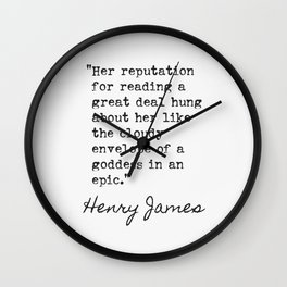 American author, who became a British citizen in the last year of his life. Wall Clock