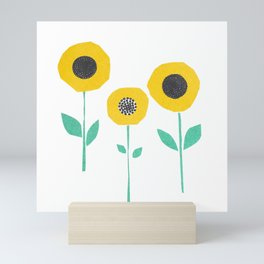 Hello Sunshine! Sunflowers Mini Art Print