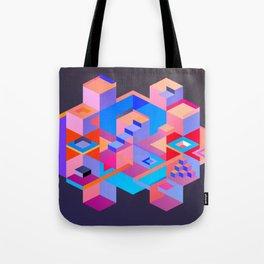 Cubic Inversion III Tote Bag