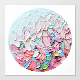 Yoshino Petals Canvas Print