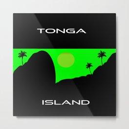 Tonga Island Metal Print