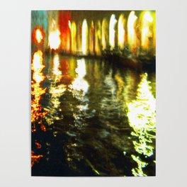 City Lights: Venice – Canal Grande – Mercato # 210 Poster