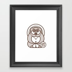 TANUKI Framed Art Print