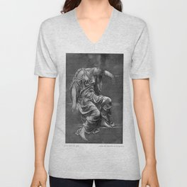 Evelyn De Morgan - Study from the life Unisex V-Neck
