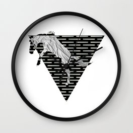year of the horse: part 4 Wall Clock