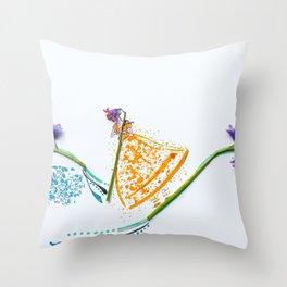 Scottish Bluebell BoPeep Throw Pillow