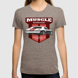 Muscle Car Garage T-shirt