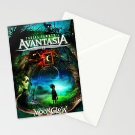 avantasia moon glow tour 2019 halim Stationery Cards