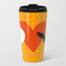 Spooky Love Metal Travel Mug