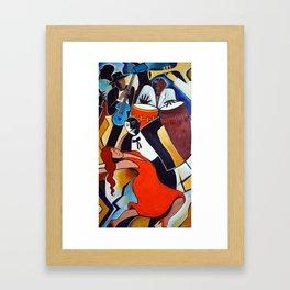 Red Hot Salsa Framed Art Print