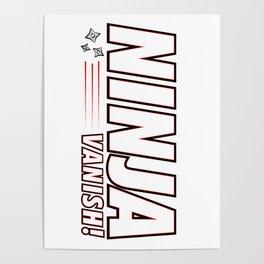 Ninja Vanish Poster