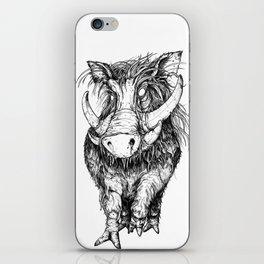 Hog iPhone Skin