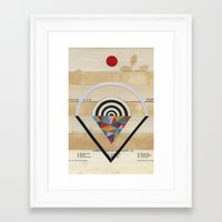 prism Framed Art Prints featuring Prism by Laurie McCall