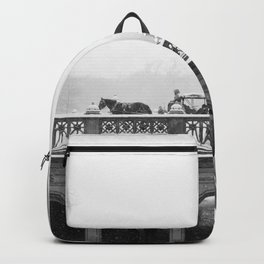 Carriage Ride in Central Park Backpack