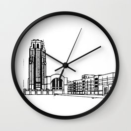 The Buffalo Central Terminal Wall Clock