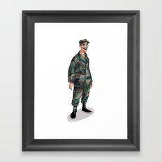 I'm going to Army Framed Art Print