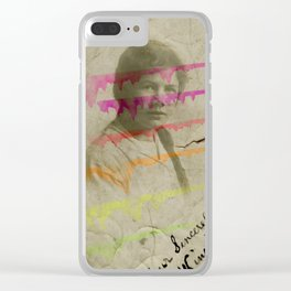 Sincerely Clear iPhone Case