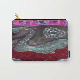 HAKUCHOU IN THE ROSE GARDEN Carry-All Pouch