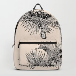 Palm oasis drawing Backpack