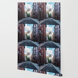 Gay Street, Greenwich Village Wallpaper
