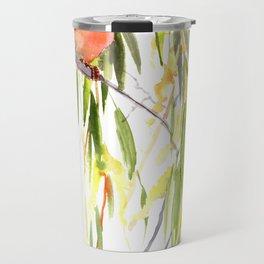 KIngfisher and Weeping Willow Travel Mug