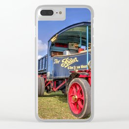 The Foden Steam Wagon Clear iPhone Case