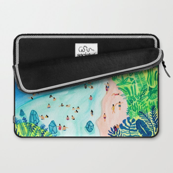 Glassy Island Laptop Sleeve