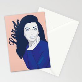 Lorde Stationery Cards