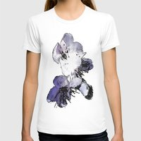 cherry blossoms T-shirts featuring CHERRY BLOSSOMS. by capricorn
