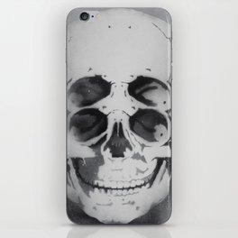 the 4i skull stencil art 1 iPhone Skin