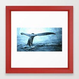 Flukes Framed Art Print