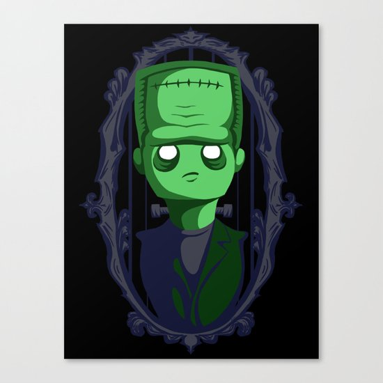 Hey Frankie! Canvas Print