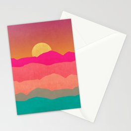 Minimal Landscape 13 Stationery Cards