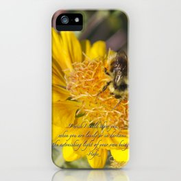 Light of Your Own Being iPhone Case