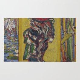 Vincent Van Gogh - Japanese - Oiran (after Kesai Eisen), 1887 Rug