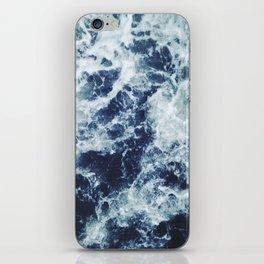 Dark blue Ocean iPhone Skin