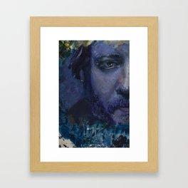 Bon Iver - Justin Vernon II Framed Art Print