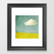 One Cloud Framed Art Print