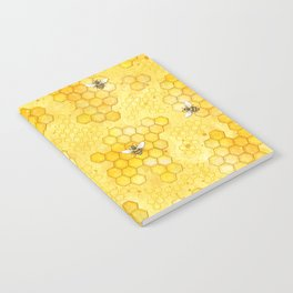 Meant to Bee - Honey Bees Pattern Notebook