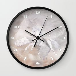 Flying Unicorn Wall Clock
