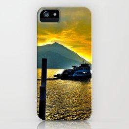 Lake Como Magic iPhone Case