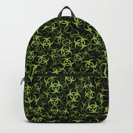 Biohazard (green on black) Backpack
