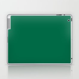 Solid Emerald Laptop & iPad Skin
