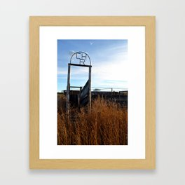 CHR Framed Art Print